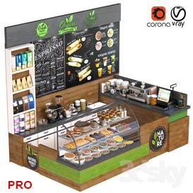 CofeShop 35 3d model Download  Buy 3dbrute