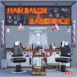 Jc Barber Shop 3d model Download  Buy 3dbrute