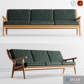 Getama sofa 3d model Download  Buy 3dbrute