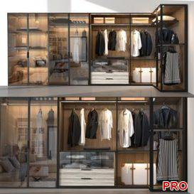 wardrobe Molteni C 3d model Download  Buy 3dbrute