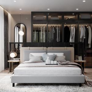 Bed room scene 33 3dbrute