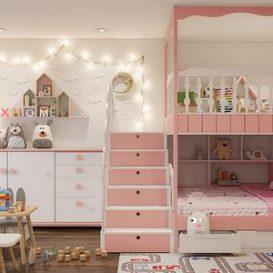 Bed room scene 49 3dbrute