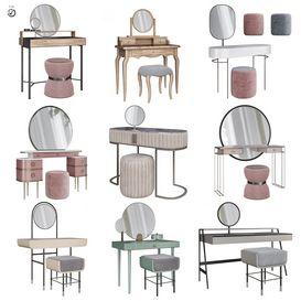 Dressing table scene 50 3dbrute