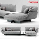 Sofa cassina 550 BEAM SOFA SYSTEM