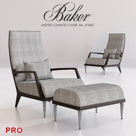 BAKER JASPER LOUNGE CHAIR 3d model Download  Buy 3dbrute