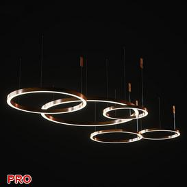 Henge light ring horizontal set2 3d model Download  Buy 3dbrute