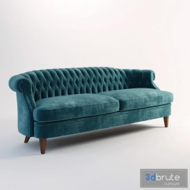 Antique Sofa 3d model Download  Buy 3dbrute