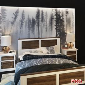 Folk Bed b26 3d model Download  Buy 3dbrute