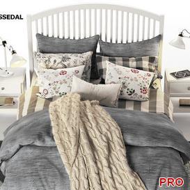 TYSSEDAL  Bed b27 3d model Download  Buy 3dbrute