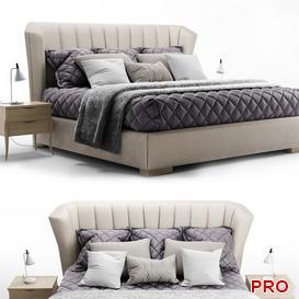 Fratelli Barri  Rimini Bed b28 3d model Download  Buy 3dbrute