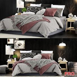 Set Bed b29 3d model Download  Buy 3dbrute