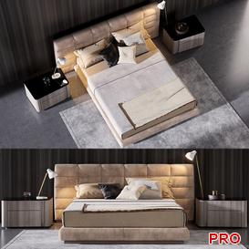 lawrence Bed b40 3d model Download  Buy 3dbrute