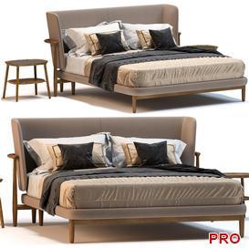 GIORGETTI PEGASO Bed b46 3d model Download  Buy 3dbrute