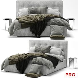 mezzo Bed b49 3d model Download  Buy 3dbrute
