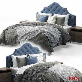 Qween Bed b50 3d model Download  Buy 3dbrute