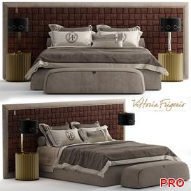 vittoria frigerio DURINI Bed b23 3d model Download  Buy 3dbrute