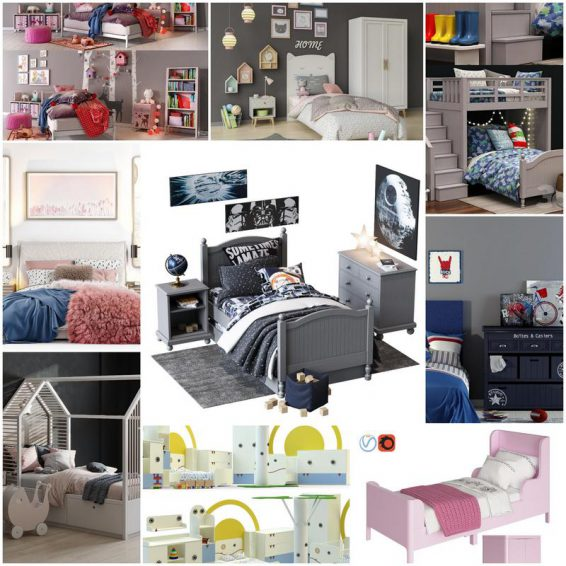 BED FOR KID 2019 3dmodel