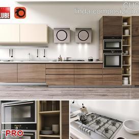 Lube Linda  kitchen P6 3d model Download  Buy 3dbrute