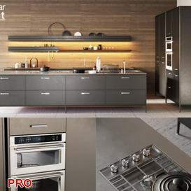 Boffi kitchen P8 3d model Download  Buy 3dbrute