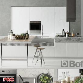 Scavolini Favilla 2013 kitchen P9 3d model Download  Buy 3dbrute