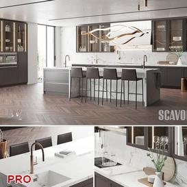 loft kitchen P14 3d model Download  Buy 3dbrute