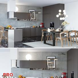 PB SIGNATURE kitchen P15 3d model Download  Buy 3dbrute