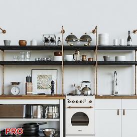 Horizont Forum Stone kitchen P16 3d model Download  Buy 3dbrute