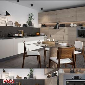 Aster Timeline  Rework kitchen P19 3d model Download  Buy 3dbrute