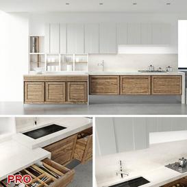CARLOTTAPLUS kitchen P20 3d model Download  Buy 3dbrute