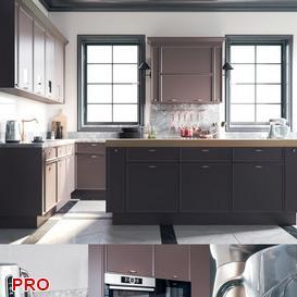 POLIFORM TW kitchen P23 3d model Download  Buy 3dbrute