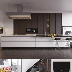 poliform kitchen P26 3d model Download  Buy 3dbrute