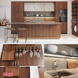 lincat kitchen P28 3d model Download  Buy 3dbrute