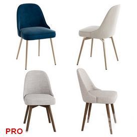 WEST ELM Mid Century Chair C2 3d model Download  Buy 3dbrute