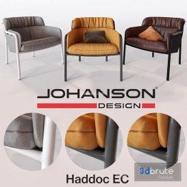 Haddoc EC lounge Chair C11 3d model Download  Buy 3dbrute