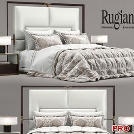 Rugiano Bed b82 3d model Download  Buy 3dbrute