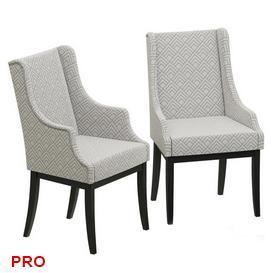Dantone Home Dallas Chair C23 3d model Download  Buy 3dbrute