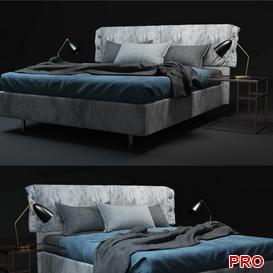 Twils Giselle  Bed b95 3d model Download  Buy 3dbrute