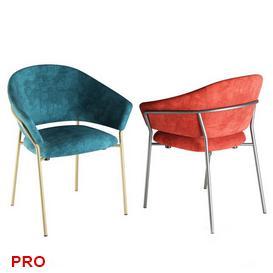 Pedrali jazz Chair C26 3d model Download  Buy 3dbrute
