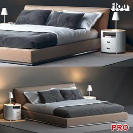 flou Bed b100 3d model Download  Buy 3dbrute