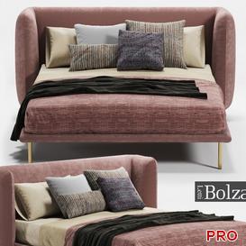Bolzan Jill Bed b101 3d model Download  Buy 3dbrute