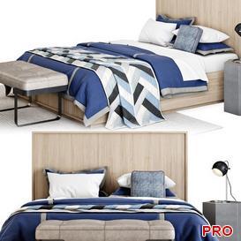 MeierPanel Bed b102 3d model Download  Buy 3dbrute