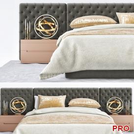 restoration hardware  Bed b129 3d model Download  Buy 3dbrute
