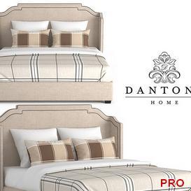 Dantone Beverly Bed b136 3d model Download  Buy 3dbrute