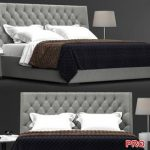Meridiani Turman Low Bed b165
