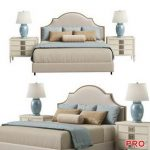 Horchow Cheresse King Bed b170