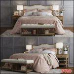 Claremont Bed b187