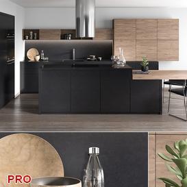 kitchen P36 3d model Download  Buy 3dbrute