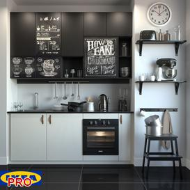 ikea kitchen P40 3d model Download  Buy 3dbrute