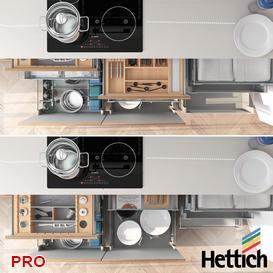 Hettich InnoTech kitchen P41 3d model Download  Buy 3dbrute