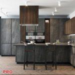 Cocina Gammadecor X line kitchen P42